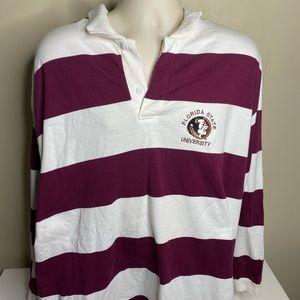 Vintage Florida state seminoles rugby long sleeve